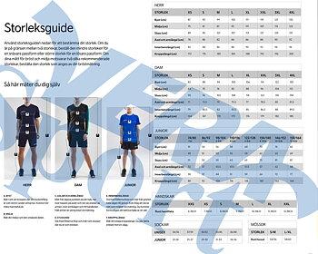 Funktions T-shirt med LEDARE-tryck för Värmdö Gymnastikakademi, Dam