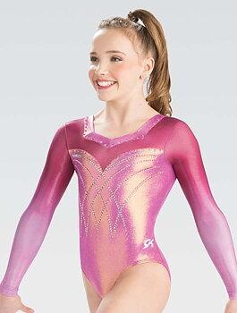 Specialdesignad gymnastikdräkt med Swarovski®