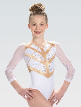 Spesial designed Turn/Gymnastikk-drakt med Swarovski®