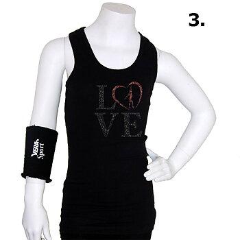 "Singlett ""LOVE"" Gymnast"