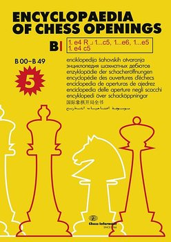 Encyclopaedia of Chess Opening B1 (5th edition) av informator