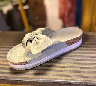 Slip in Sandal Grön