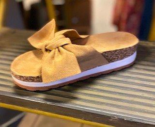 Slip in Sandal Camel