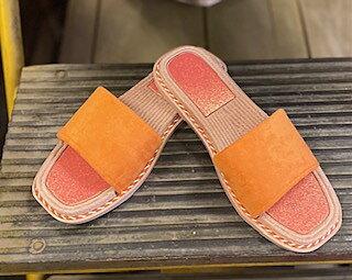 Spring Sandal Orange