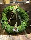 Mosskrans Grön 30cm