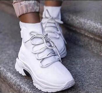 FÖRBOKA Comfy Sneakers Vit