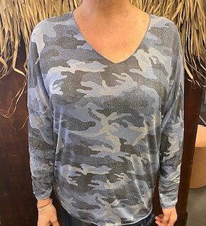 Tröja Camouflage Blå