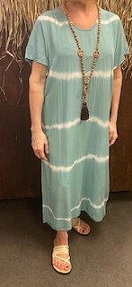Batikdress Annie  Ocean
