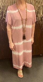 Batikdress Annie  Rosa