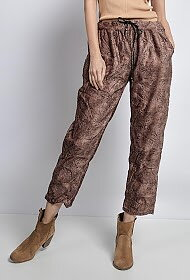 Casual Pants Choklad