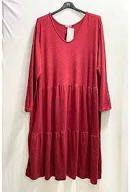 Maxidress Mia Burgundy