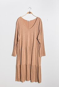 Maxidress Mia Camel