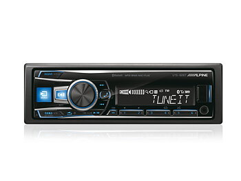 Alpine UTE-92BT Digital Media Receiver with Bluetooth (RGB)