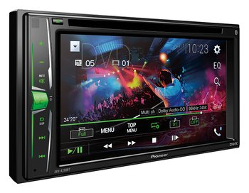 Pioneer 2DIN CD/DVD, 1 USB/iPod 6,2""