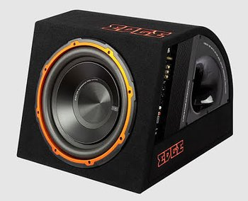 "EDGE Enclosure, 12"" Active Subwoofer, 300W RMS"