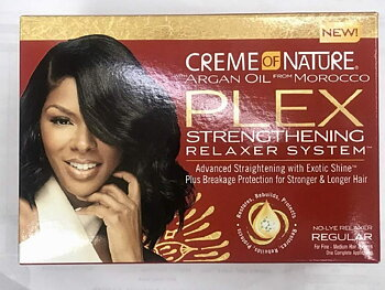 Creme Of Nature PLEX Strengthening Relaxer System (REGULAR)