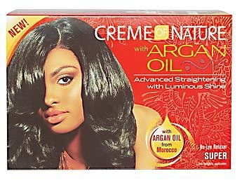 Creme Of Nature Relexer Kit  (SUPER)