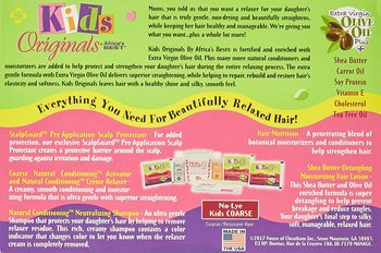 kids oRGANICS Natural Conditioning Relaxer System No-Lye Kids COARSE