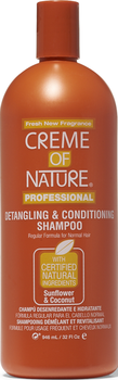 Cream Of Natur Detan & Condi Shampoo 946ml