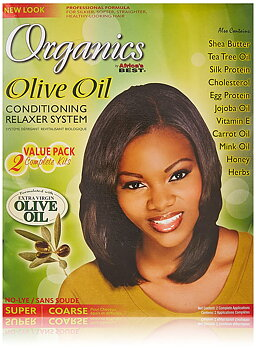 Africa's Best Olive oil Conditioning Relaxer Syestem (Super)