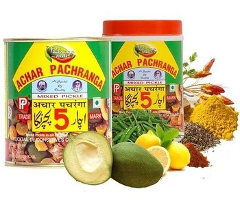 Pancharanga Foods  Achar Pancharanga (Mixed Pickle) 800g