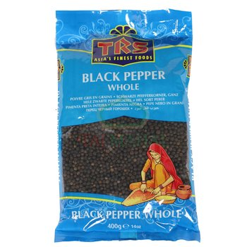 TRS Black Pepper Whole 400g