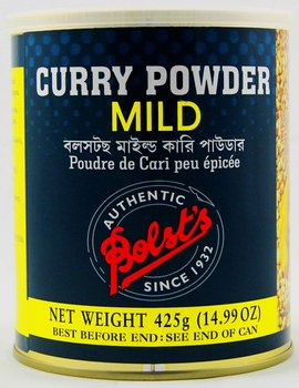 BOLST´S Curry Powder (MILD) 425g