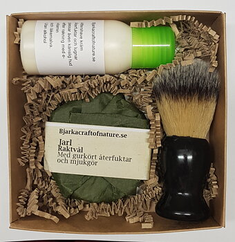Gift box shaving