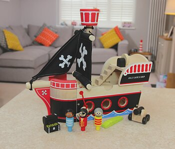 Jolly Jacks Pirate Ship