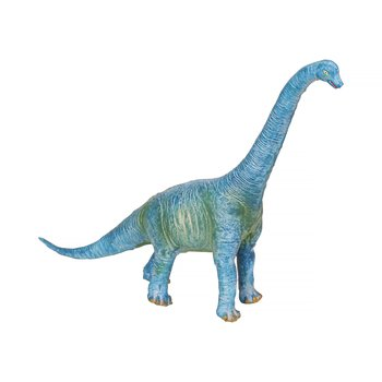 Brachiosaurus i naturgummi Mellan