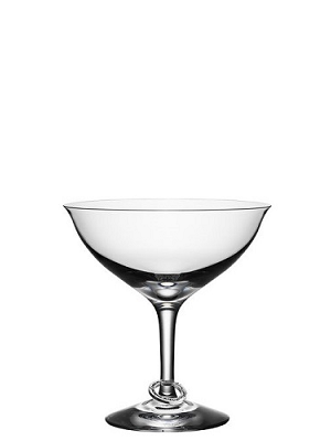 Amor Vincit Omnia Champagne Glass Coupe 2-pack