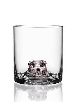New Friends OF Bear Whiskey glass