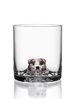 New Friends OF Bear Whiskey glass - Kosta Boda