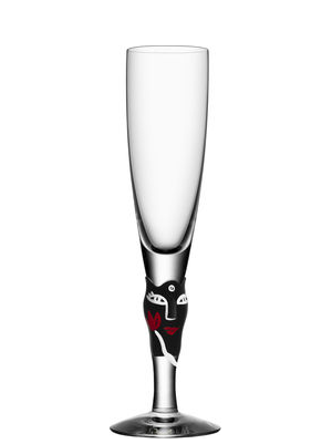 Open Minds Champagne Black  - Kosta Boda