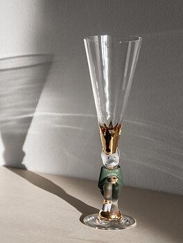 Nobel Djävulsglas Champagneglas Grön