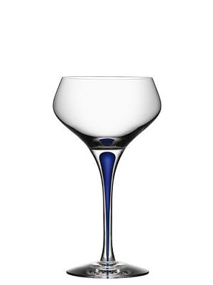 Intermezzo Blå Champagne Coupe - Orrefors