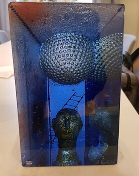 Blue Moon Skulptur