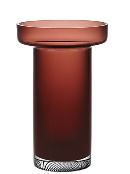 Limelight Vase Caramel Rose