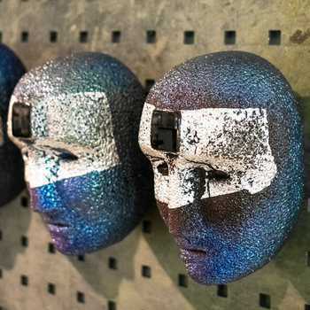 Big Brains Look In Blå Silver