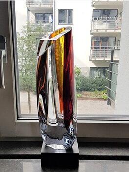 Saraband Vase Red Amber