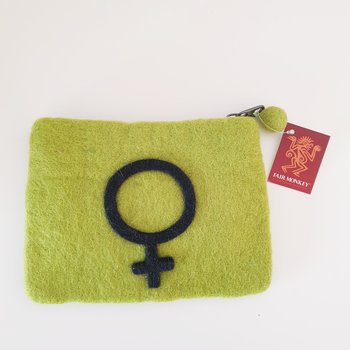Myntbörs Venus limegrön