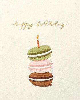 Good Paper Macaron Birthday