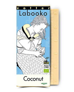 Choklad Zotter Labooko Kokos 68%