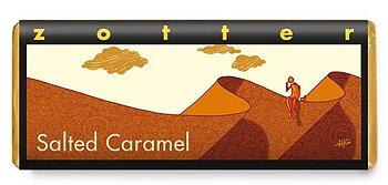 Zotter choklad Salted Caramel