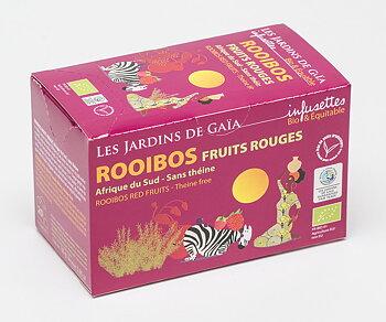 Rooibos röda frukter