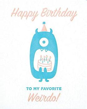 Good Paper Weirdo Birthday