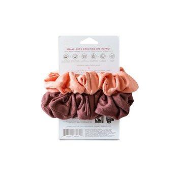 Scrunchies Kooshoo korall/rosa 2-pack