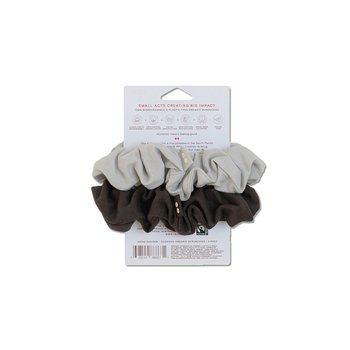 Scrunchies Kooshoo mörkgrå/ljusgrå 2-pack