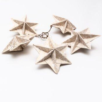 Juldekoration stjärna origami 5-pack