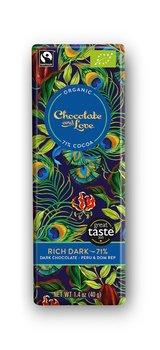Chocolate and Love mörk 71% Rich Dark 40 g